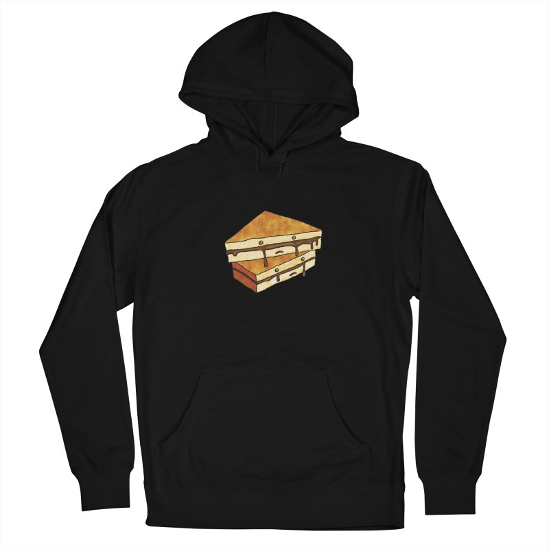 sad af: chocolate sandwich Women's French Terry Pullover Hoody by How to Eat Your Feelings