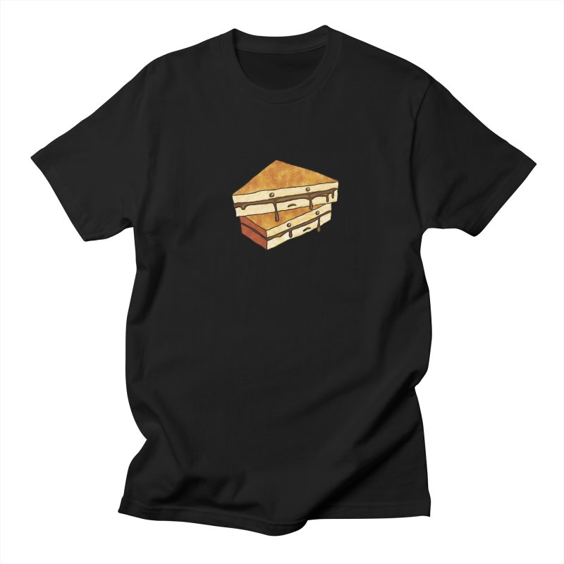 sad af: chocolate sandwich Men's Regular T-Shirt by How to Eat Your Feelings