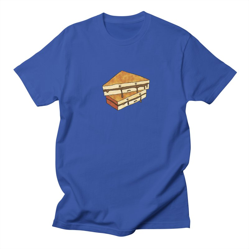 sad af: chocolate sandwich Men's T-Shirt by How to Eat Your Feelings