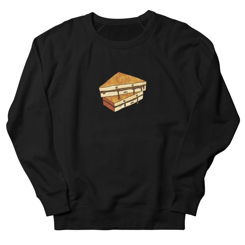 sad af: chocolate sandwich Women's French Terry Sweatshirt by How to Eat Your Feelings