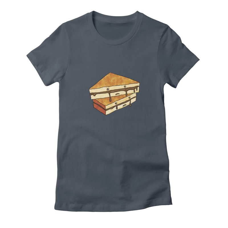 sad af: chocolate sandwich Women's T-Shirt by How to Eat Your Feelings