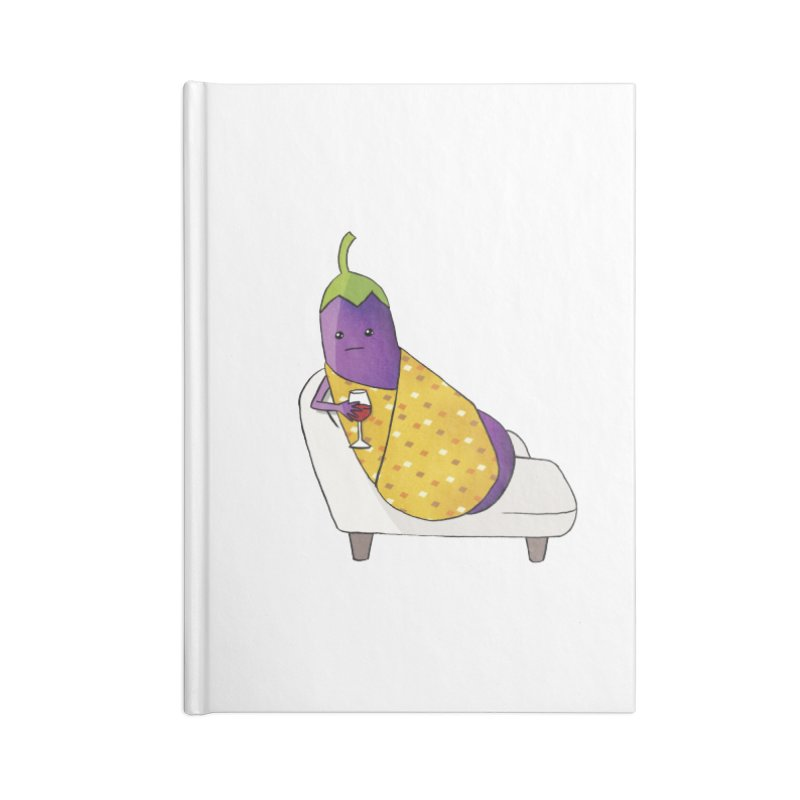 lonely: tortang talong Accessories Lined Journal Notebook by How to Eat Your Feelings