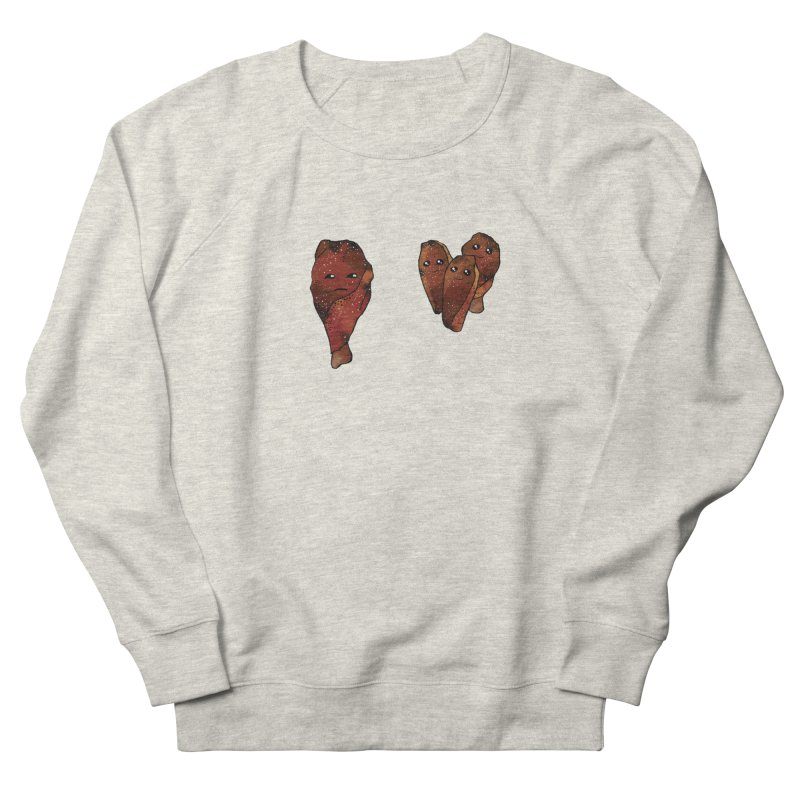 coldblooded: smoked honey wings Women's French Terry Sweatshirt by How to Eat Your Feelings