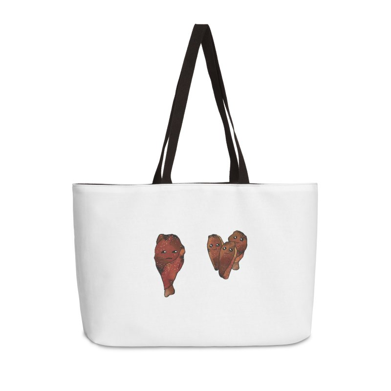 coldblooded: smoked honey wings Accessories Weekender Bag Bag by How to Eat Your Feelings