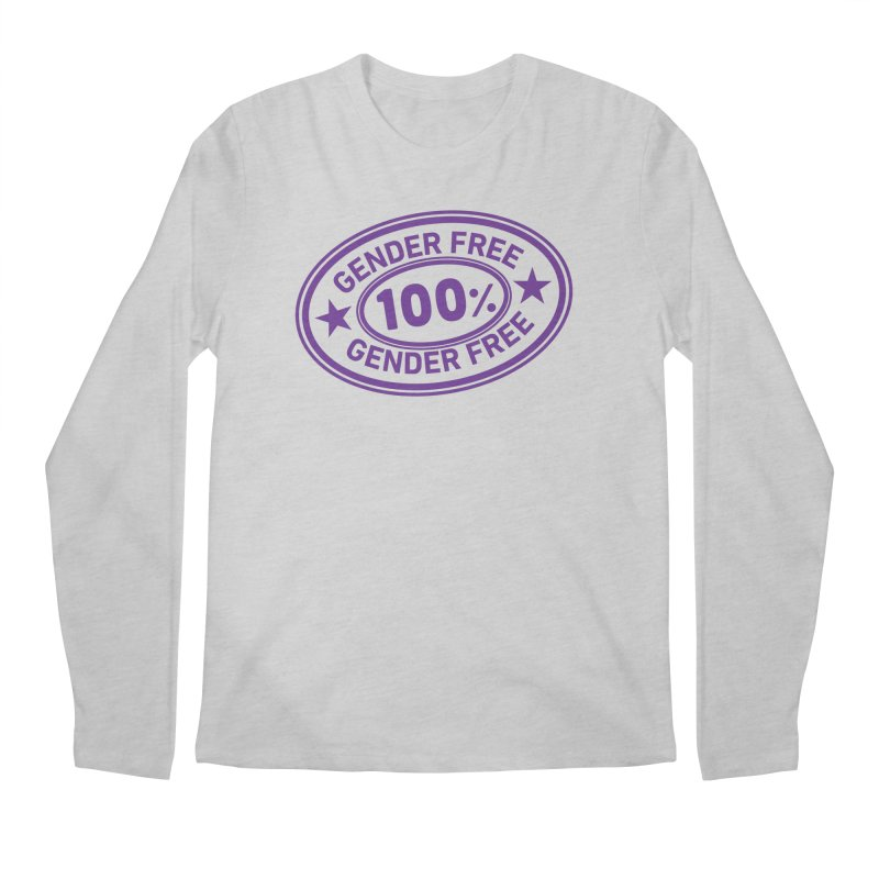 100% Gender Free Men's Longsleeve T-Shirt by It's Just DJ