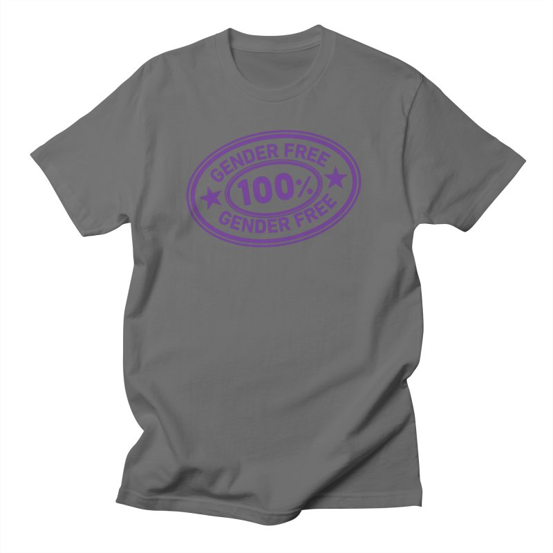 100% Gender Free Women's T-Shirt by It's Just DJ