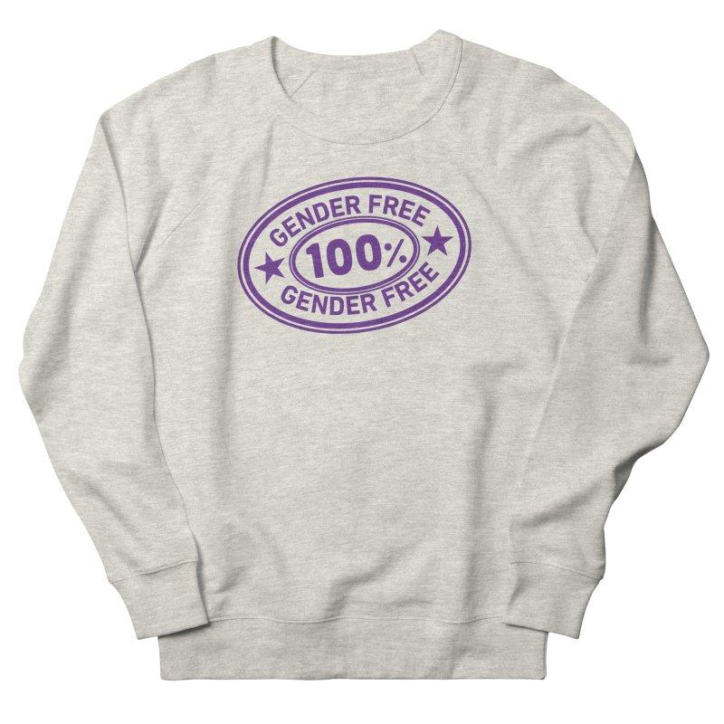 100% Gender Free Men's Sweatshirt by It's Just DJ