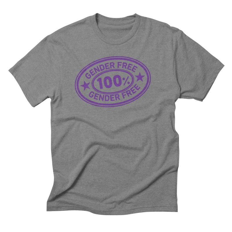 100% Gender Free Men's T-Shirt by It's Just DJ