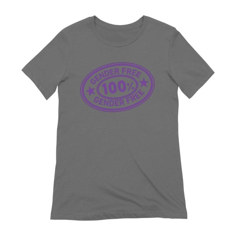 100% Gender Free Women's T-Shirt by It's Just DJ