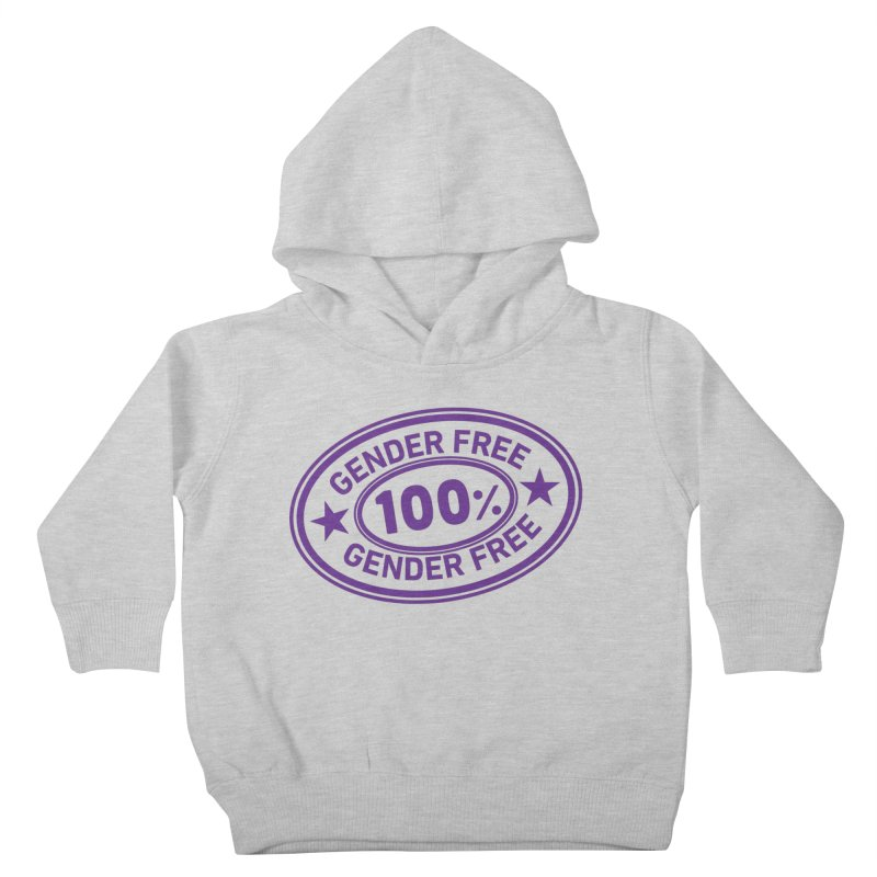 100% Gender Free Kids Toddler Pullover Hoody by It's Just DJ