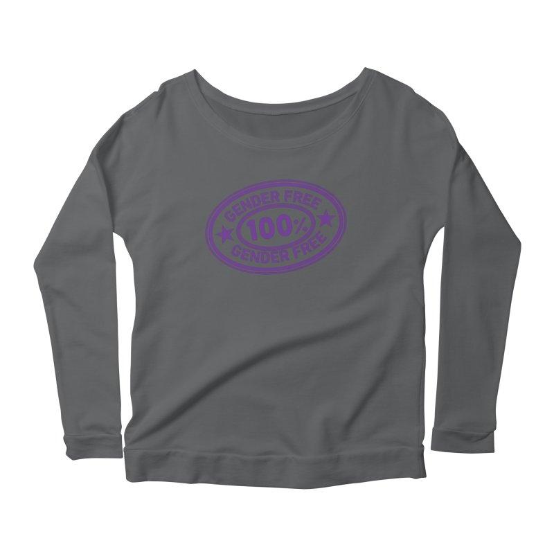 100% Gender Free Women's Longsleeve T-Shirt by It's Just DJ
