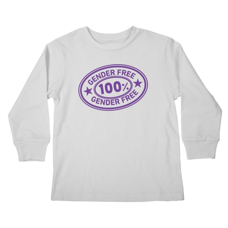 100% Gender Free Kids Longsleeve T-Shirt by It's Just DJ