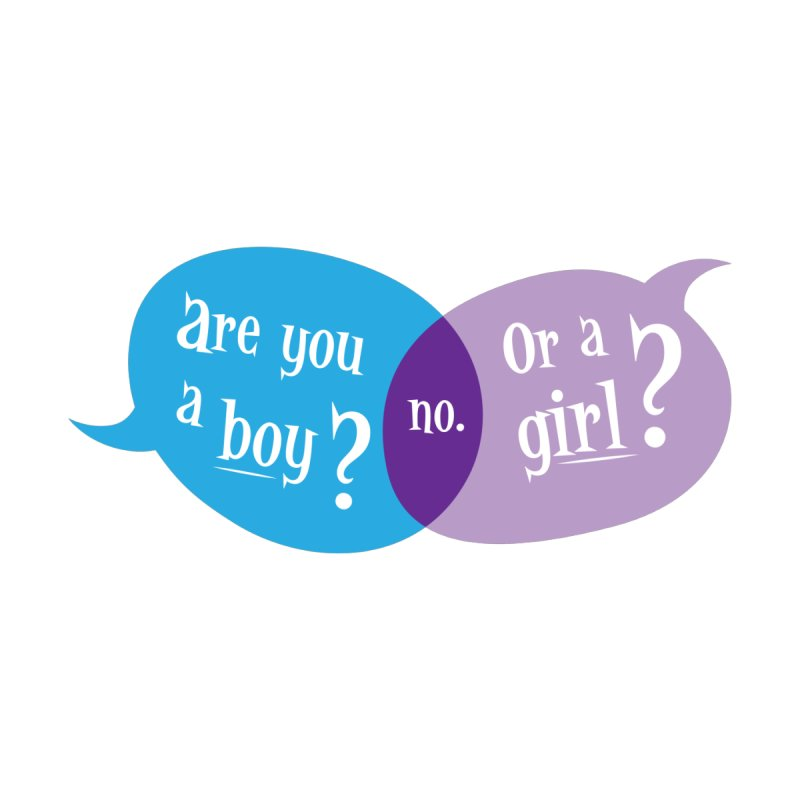 Boy or Girl? Women's V-Neck by It's Just DJ