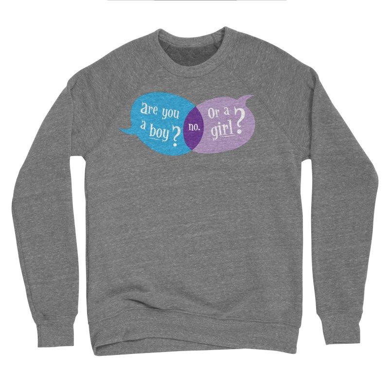 Boy or Girl? Men's Sweatshirt by It's Just DJ