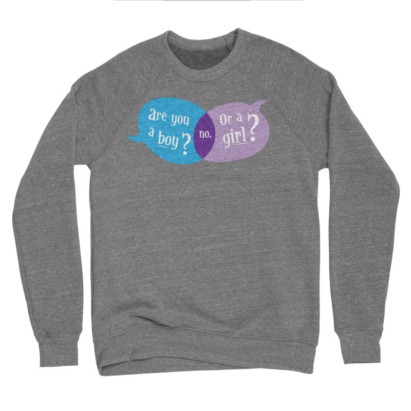 Boy or Girl? Women's Sweatshirt by It's Just DJ