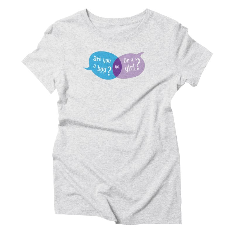 Boy or Girl? Women's T-Shirt by It's Just DJ