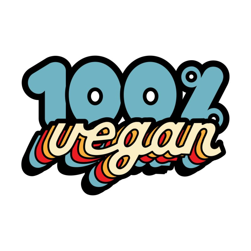 100% Vegan Accessories Sticker by It's Just DJ