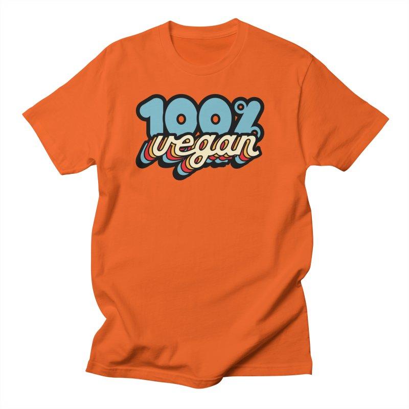 100% Vegan Men's T-Shirt by It's Just DJ