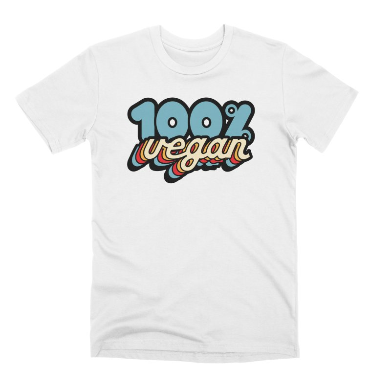100% Vegan Men's T-Shirt by It's Just DJ