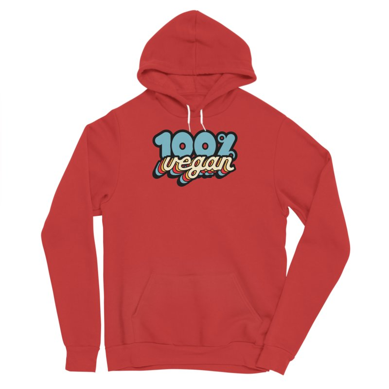 100% Vegan Women's Pullover Hoody by It's Just DJ