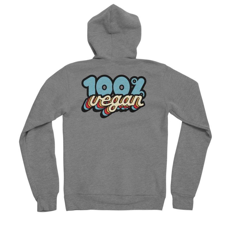 100% Vegan Men's Zip-Up Hoody by It's Just DJ