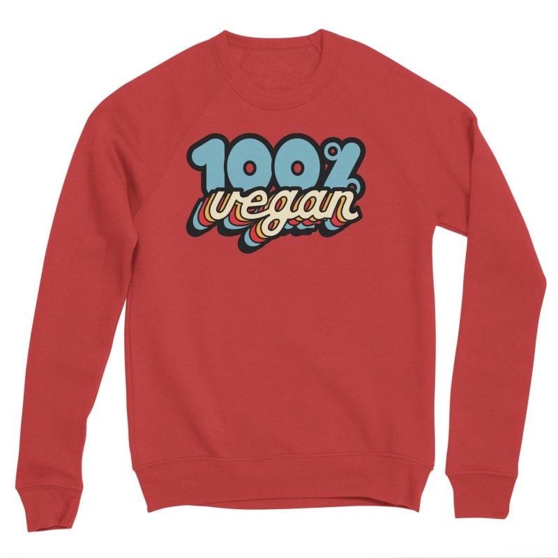 100% Vegan Men's Sweatshirt by It's Just DJ