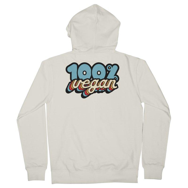 100% Vegan Women's Zip-Up Hoody by It's Just DJ