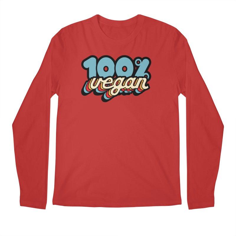 100% Vegan Men's Longsleeve T-Shirt by It's Just DJ