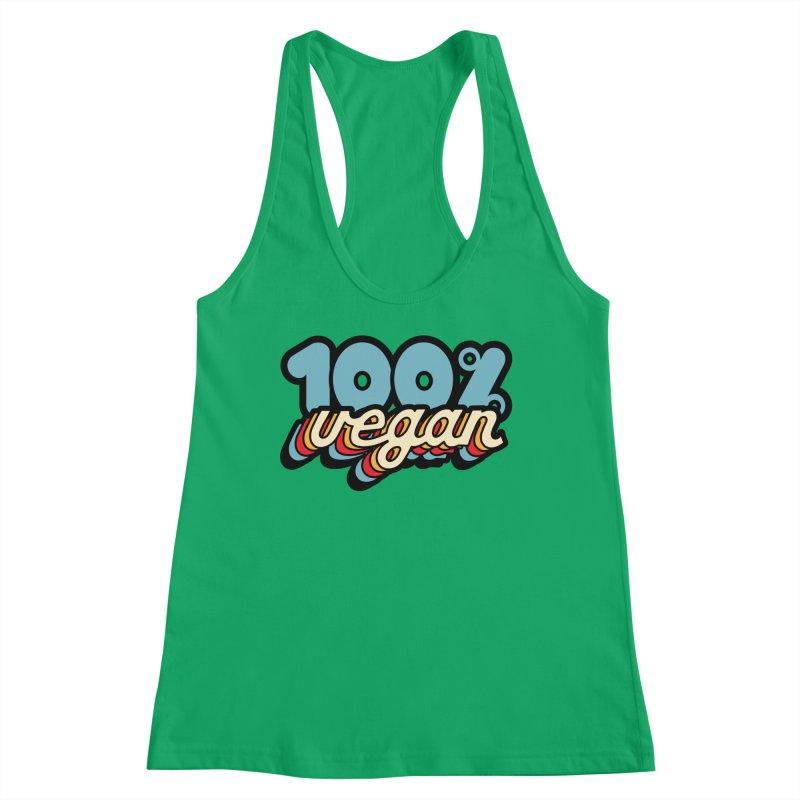 100% Vegan Women's Tank by It's Just DJ