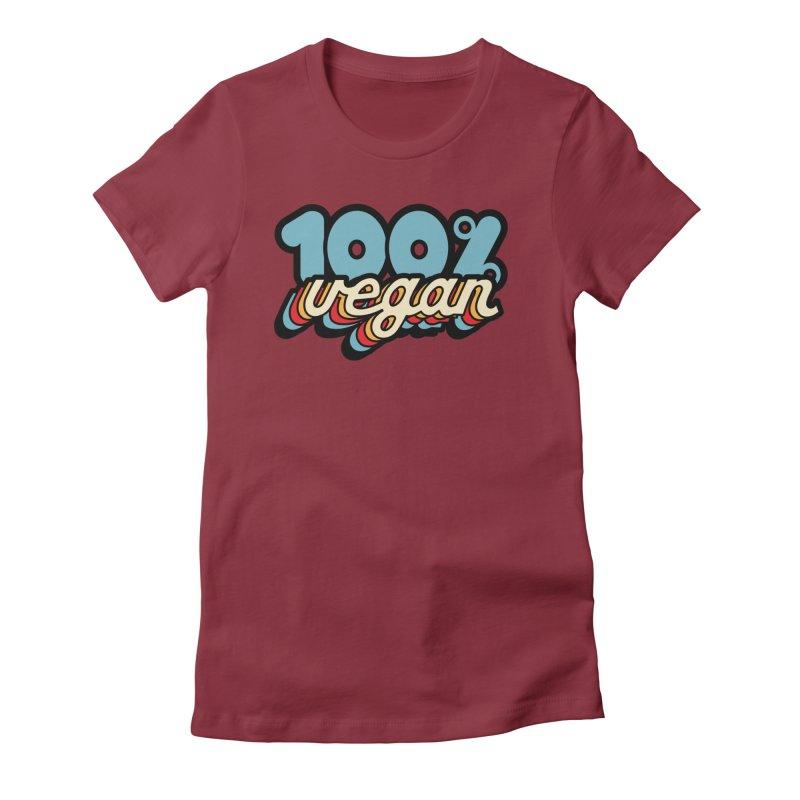 100% Vegan Women's T-Shirt by It's Just DJ