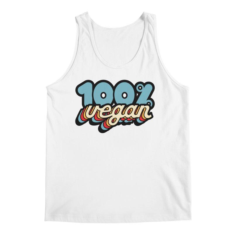 100% Vegan Men's Tank by It's Just DJ