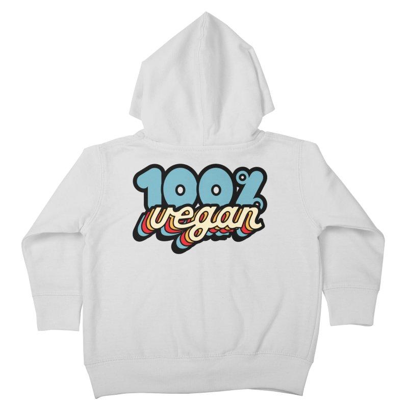 100% Vegan Kids Toddler Zip-Up Hoody by It's Just DJ
