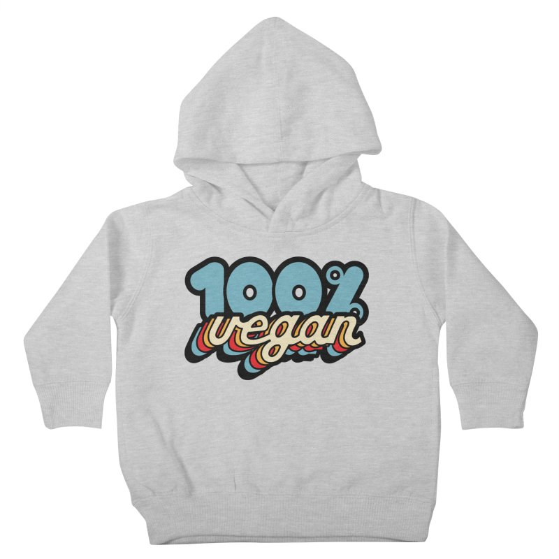 100% Vegan Kids Toddler Pullover Hoody by It's Just DJ