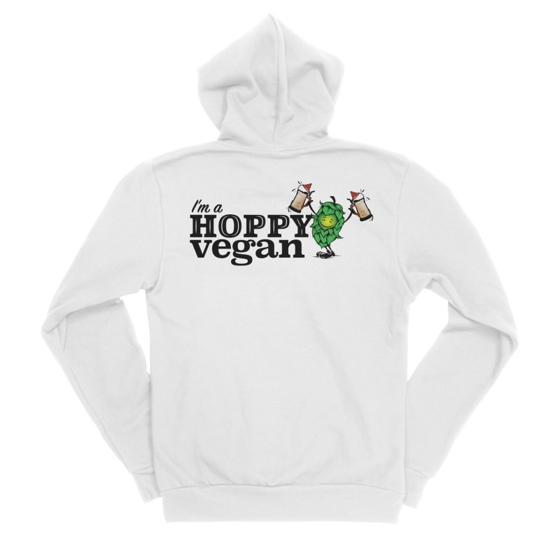 Hoppy Vegan Women's Zip-Up Hoody by It's Just DJ