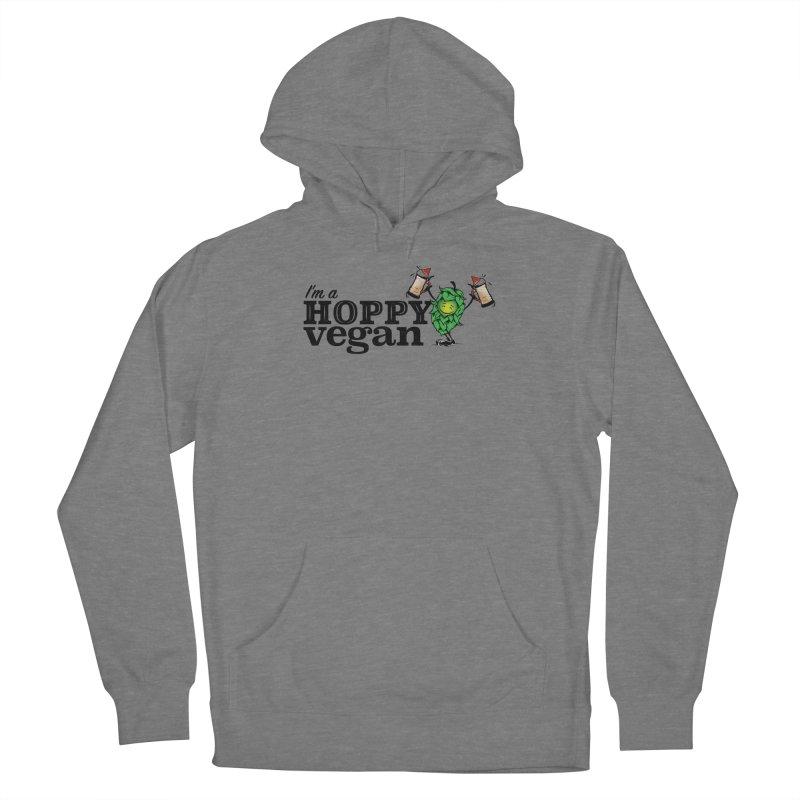 Hoppy Vegan Men's Pullover Hoody by It's Just DJ