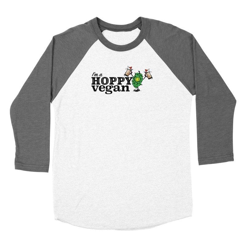 Hoppy Vegan Women's Longsleeve T-Shirt by It's Just DJ
