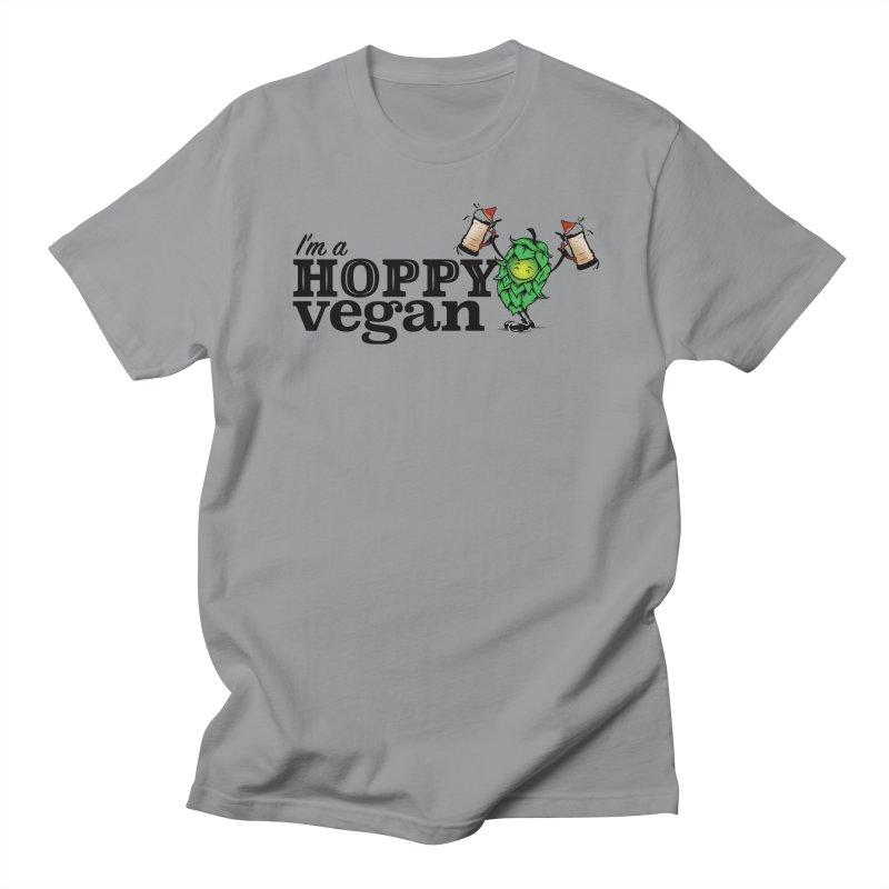Hoppy Vegan Men's T-Shirt by It's Just DJ