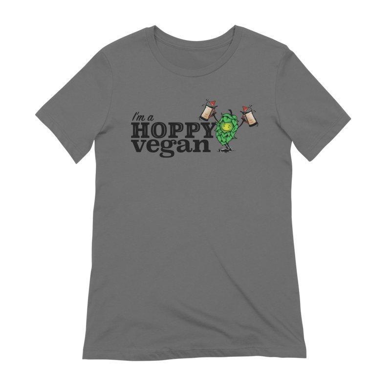 Hoppy Vegan Women's T-Shirt by It's Just DJ