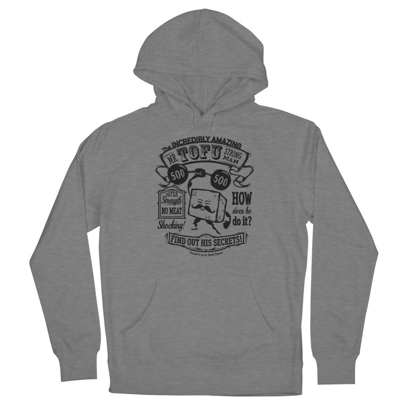 Tofu Strongman Women's Pullover Hoody by It's Just DJ