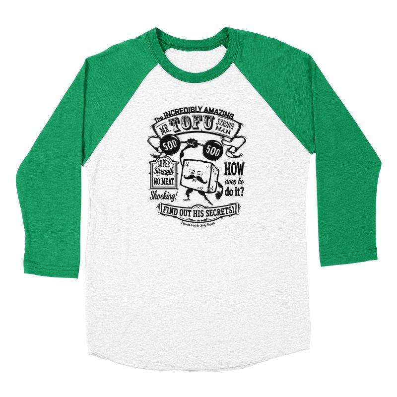 Tofu Strongman Women's Longsleeve T-Shirt by It's Just DJ