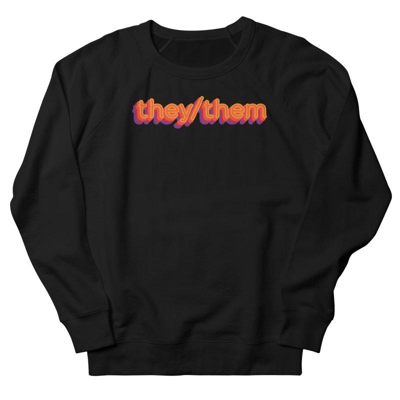 They/Them Men's Sweatshirt by It's Just DJ