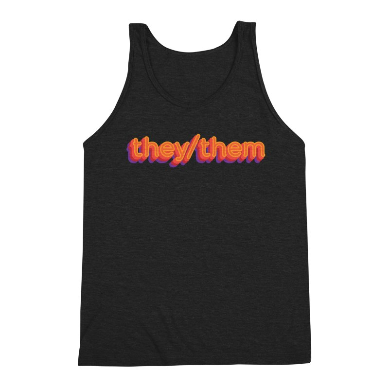 They/Them Men's Tank by It's Just DJ