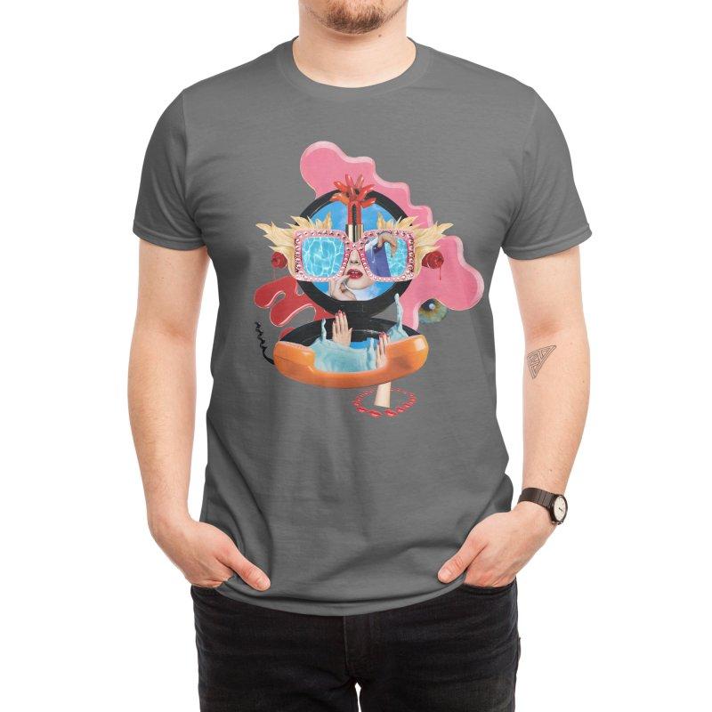 Telephone Delirium Men's T-Shirt by itslucamainini's Shop