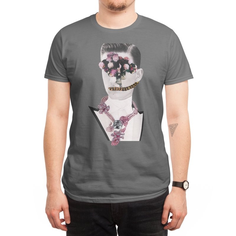 Boy with Flowers Men's T-Shirt by itslucamainini's Shop
