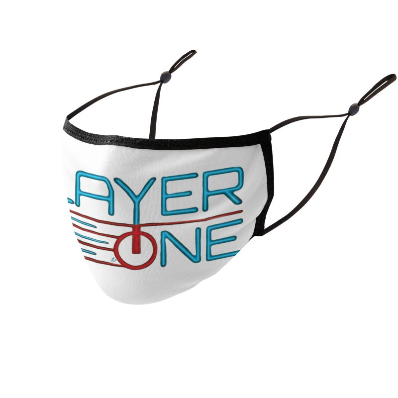 Player One T-Shirt Accessories Face Mask by itsmarkcooper's Artist Shop