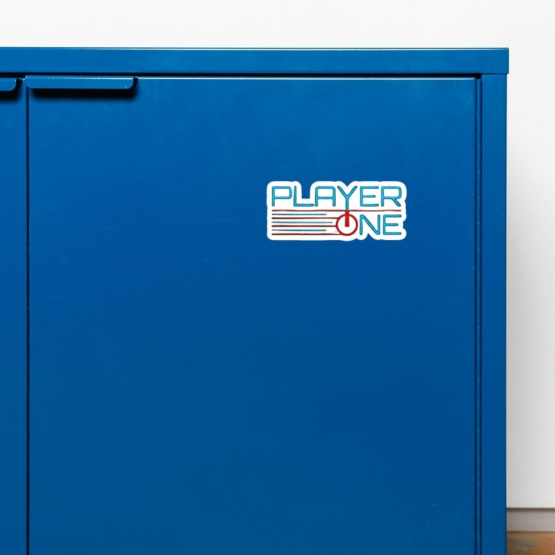 Player One T-Shirt Accessories Magnet by itsmarkcooper's Artist Shop