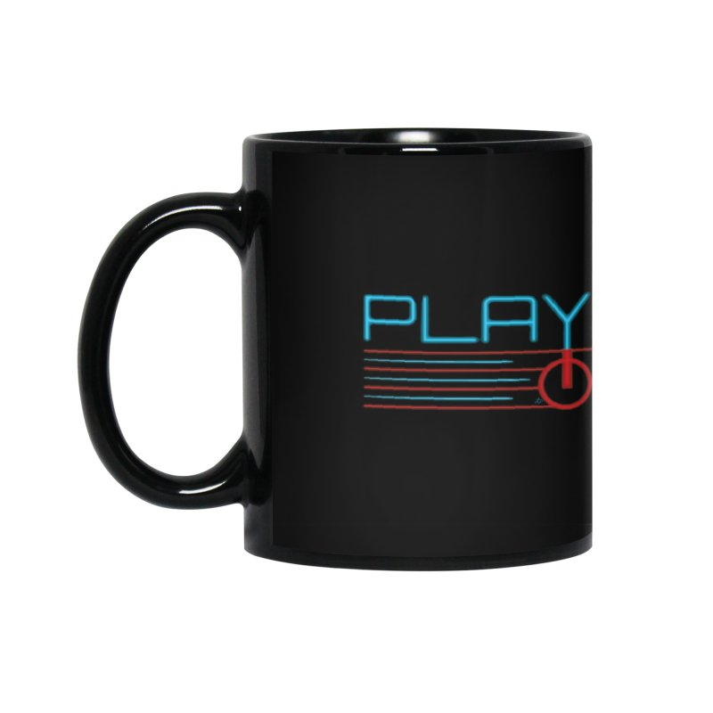 Player One T-Shirt Accessories Mug by itsmarkcooper's Artist Shop
