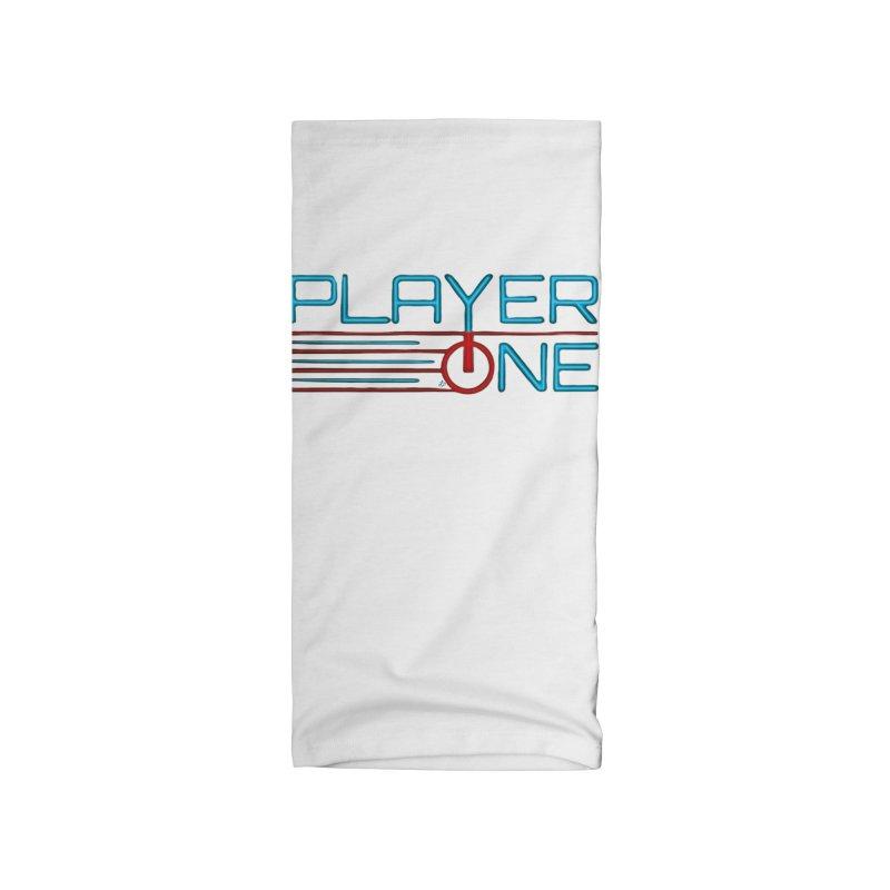 Player One T-Shirt Accessories Neck Gaiter by itsmarkcooper's Artist Shop