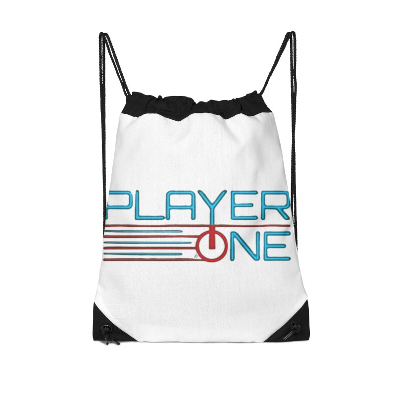 Player One T-Shirt Accessories Bag by itsmarkcooper's Artist Shop