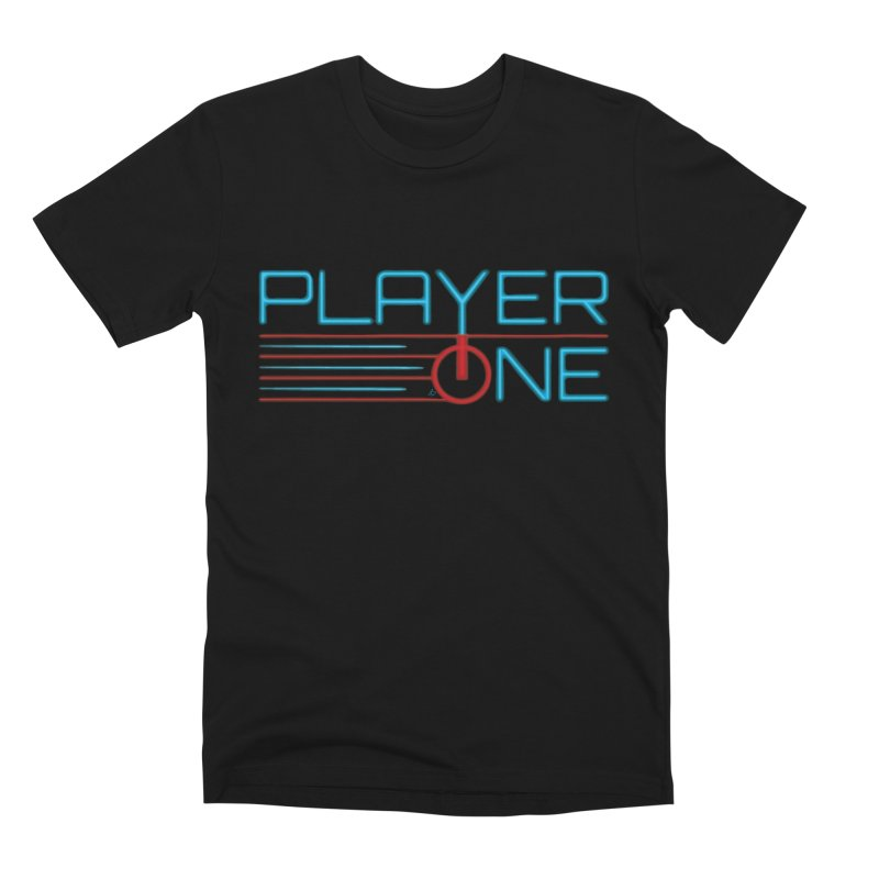 Player One T-Shirt Men's T-Shirt by itsmarkcooper's Artist Shop